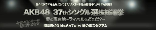 AKB48 37thシングル 選抜総選挙